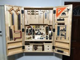 wall mounted tool cabinet office table