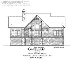 house plan dimensions the high country cottage ii 1808 house plans by garrell