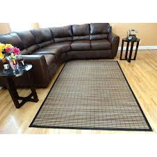 Bamboo Outdoor Rug Fancy Bamboo Rug Homes Woven Beige Stripe Rayon From Bamboo