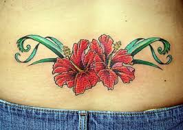 orange foot tribal hibiscus tattoo inofashionstyle com