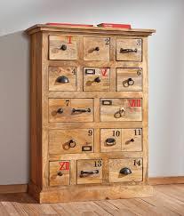 meuble design vintage meuble de rangement en bois vintage avec 14 tiroirs scribe1