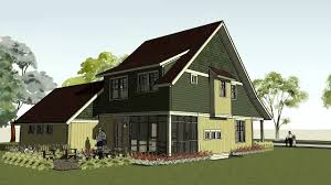 simple bungalow craftsman home plan small house plan the