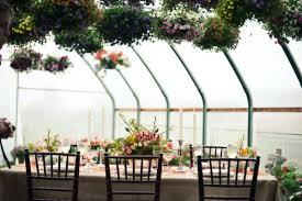greenhouse garden wedding ideas ruffled