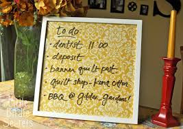 Dry Erase Board Decorating Ideas Four Square Walls Diy Custom Dry Erase Board