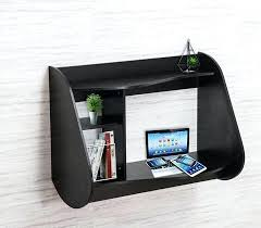 wall mounted desk amazon wall mount laptop desk floating wall mount laptop stand home office