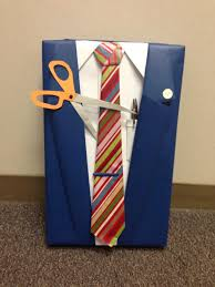 manly wrapping paper retirement gift wrap idea manly gift wrap suit and tie present