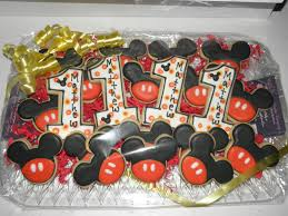mickey mouse 1st birthday cookie dreams cookie co mickey mouse 1st birthday