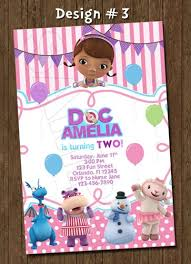 doc mcstuffins birthday party doc mcstuffins birthday party photo invitation printable