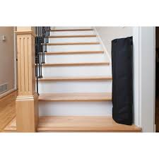 Wall Banister The Stair Barrier Wall To Banister Indoor Outdoor Safety Gate Black