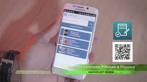 jobflex contractor estimate u0026 proposal android app review youtube