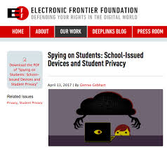 where is the history page on a chromebook eff google chromebook is still spying on grade students