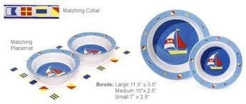 Nautical Themed Dinnerware Sets - featured pet products coolpetproducts com