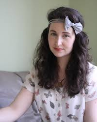 headband with bow diy bow headband from ripped tights megan nielsen design diary