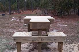 Plans For A Shooting Bench Shooting Bench