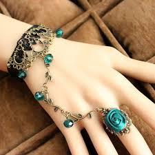 bracelet ring online images Kittenup whole dinah lolita style vintage lace bracelets of black jpg