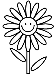 daisy coloring sheet ed ideas scout crafts
