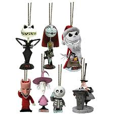 nbx mini knocker ornaments set of 7 neca nightmare before