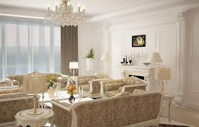 stunning victorian style living room with beige floral sofa with
