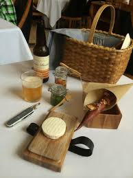 best picnic basket best picnic basket cheese course chevre style cow s milk