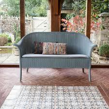 loom sofa buy lloyd loom classic sofa duck egg blue genuine lloyd loom