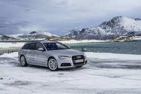 northern audi huntingthelight with matrix led technology in the audi a6 avant in