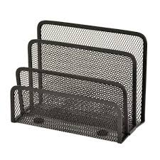 sandusky 7 in w x 3 25 in d x 5 25 in h wire mesh letter holder