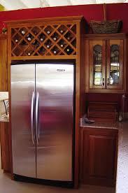 wine rack cabinet over refrigerator wine rack above fridge wine rack wine and kitchens