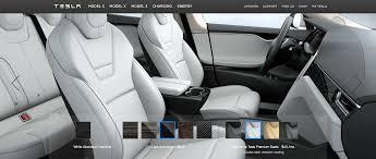 tesla model 3 interi model s ultra white interior p90d and p100d only teslamotors
