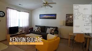 kenyon square apartments 1 bd 1 bath 640 sq ft youtube