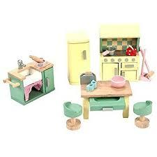 Dollhouse Furniture Kitchen Amazon Com Sugar Plum Kitchen Dolls Not Included Toys U0026 Games