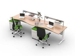 bureau bench vague 2 personnes en ligne hellekin