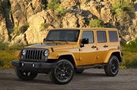 gold jeep wrangler win a 2014 jeep wrangler unlimited altitude edition rides magazine