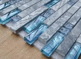 Blue Glass Tile Bathroom Glass Tile Bathroom Backsplash Zyouhoukan Net