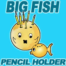 Pencil Holders For Desks Make Fish Pen And Pencil Holder For Dad U0027s Desk On Father U0027s Day
