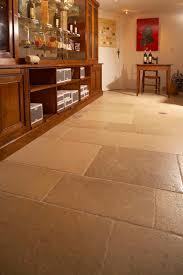 Commercial Kitchen Flooring Options Classy Gentle Blush Color Natural Stone Tile Kitchen Floor