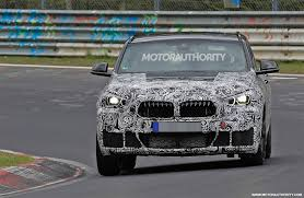 bmw x2 spy shots and video news about cool cars