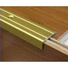 Abrasive Stair Nosing by Unika 1m Laminate Stair Nosing Gold