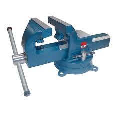 Install Bench Vise Bessey 6 In Heavy Duty Bench Vise With Swivel Base Bv Hd60 The