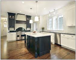 kitchens with different colored islands kitchens with two different colored cabinets light oak bar stools