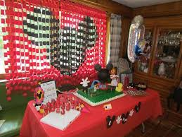 mickey mouse table l mickey mouse birthday party ideas photo 3 of 24 catch my party