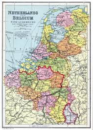 Belgium Map Europe by Large Detailed Old Political And Administrative Map Of Netherlands