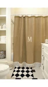 Burlap Shower Curtains 13 Best Burlap Shower Curtains Images On Pinterest Burlap Shower