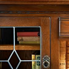 old glass doors old charm low bookcase with glass doors 2793