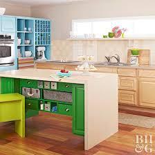 easy kitchen island do it yourself kitchen island ideas better homes gardens