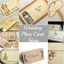 Table Place Cards by Rustic Wedding Place Cards Rustic Wedding Chic