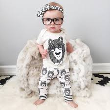 Cute Clothes For Babies Best Nwt 2015 Cute Cartoon Bowtie Bear Baby Girls Boys Set