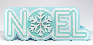 layered snowflake word cards teamknk