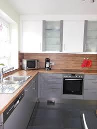 hochglanz k che küche hochglanz grau gro e einbauk che k che 420cm mit hochschr
