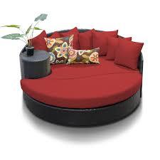 Newport Patio Furniture by Tk Classics Newport Circular Sun Bed Outdoor Wicker Patio