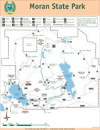Mt Washington Trail Map by Park Trail Map Orcas Island Lodging Association